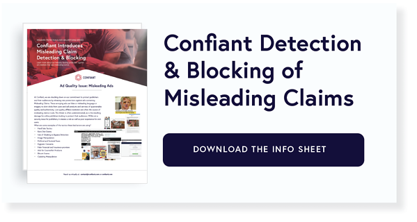 MISLEADING CLAIMS WEBSITE